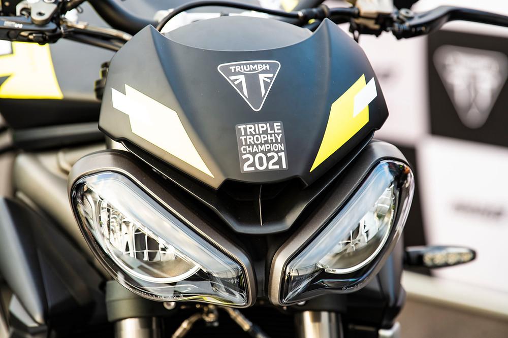 Moto 2 Triuple Trophy Champion 2021