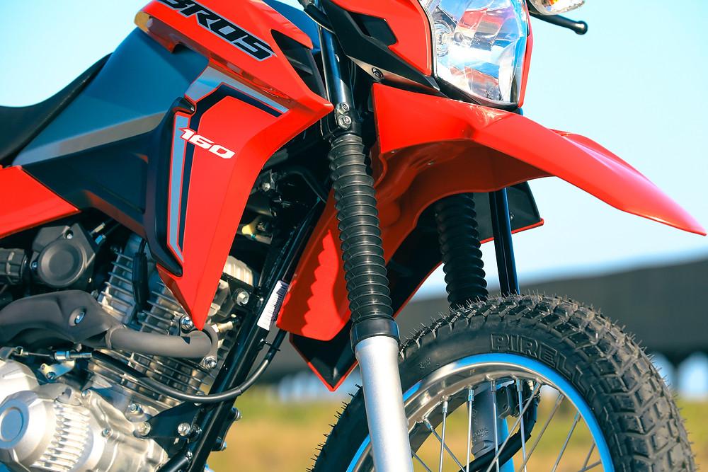 Suspensão da Honda Bros 160 2022
