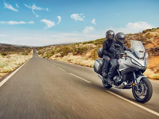 Honda lança touring com mecânica da Africa Twin na Europa