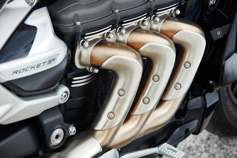 Motor da Triumph Rocket 3 R