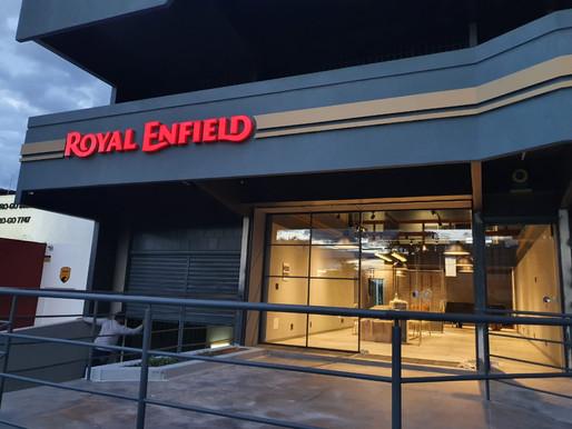Royal Enfield abre a 12a loja, a primeira na cidade de Goiânia