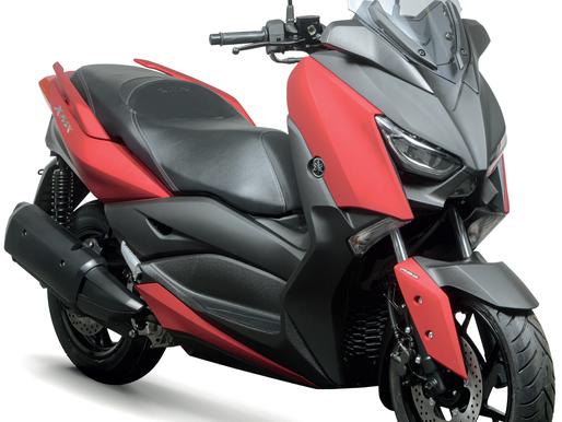 A Yamaha inovou ao mostrar modelos-conceito desenvolvidos a partir de uma parceria com a Marvel.