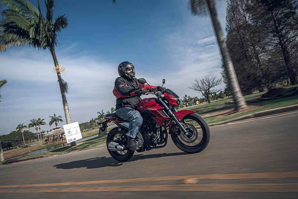 Motor da Yamaha Fazer 250 2022
