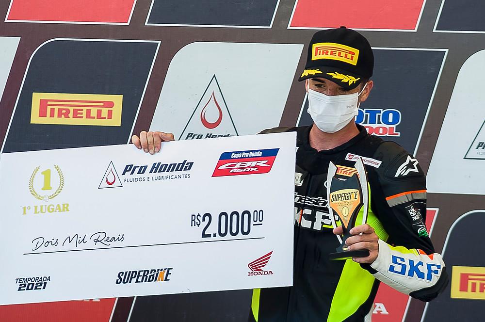 Copa Pro Honda CBR 650R tem premiação em dinheiro de R$ 2.000 para o primeiro lugar