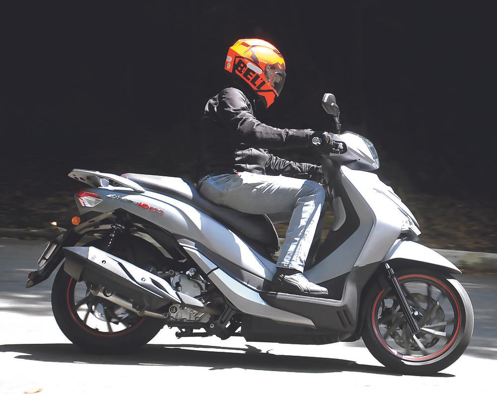 scooter Dafra Sym Citycom HD 300