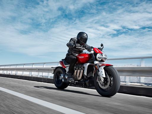 Concessionárias Triumph recebem novos lotes da roadster Rocket 3 R