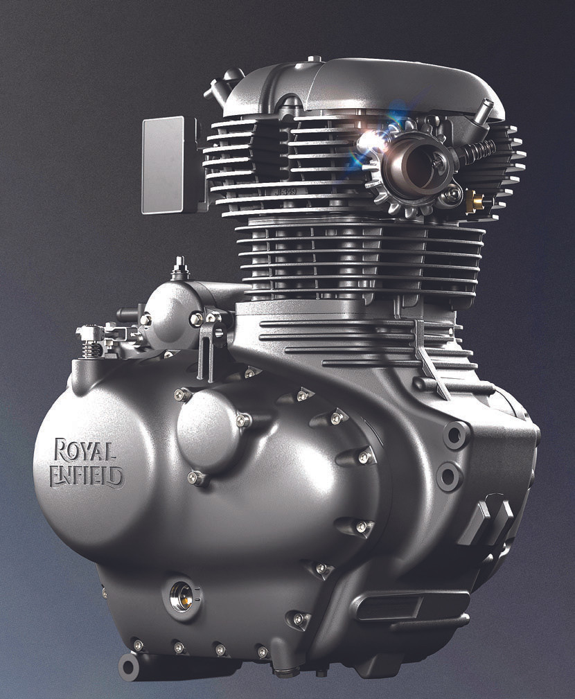 Motor da Royal Enfield Meteor 350