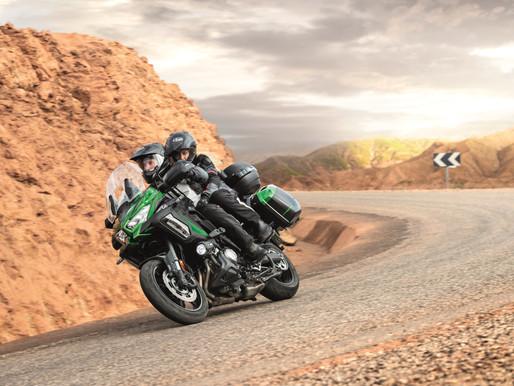 Kawasaki Versys 1000 Grand Tourer tem suspensão eletrônica atualizada