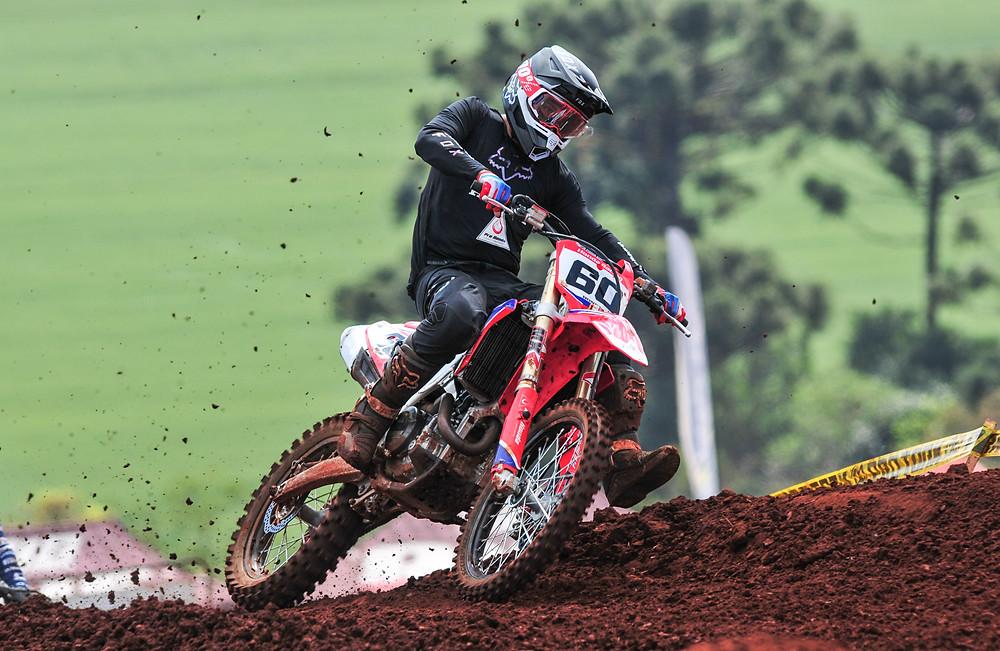 Jetro Salazar no Honda Racing 2021