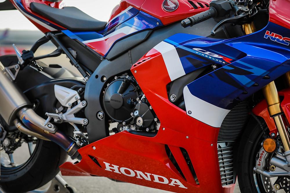 Novo motor da Honda CBR 1000RR-R 2022