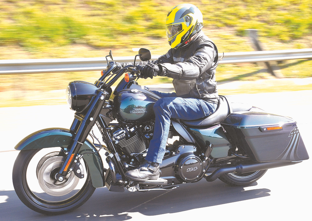 Harley Davidson King Road Snake Venom no Brasil