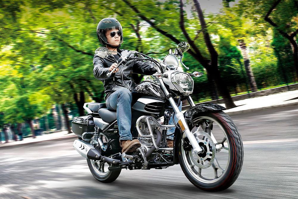 Haojue Master Ride 150 2022 no Brasil