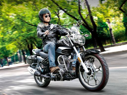 Haojue apresenta nova custom de 150 cc