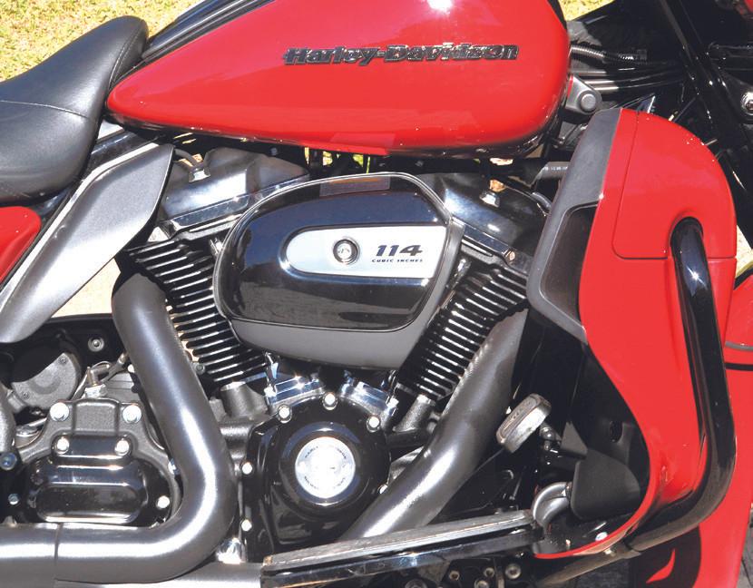 Motor da Haley Davidson Ultra Limited 114