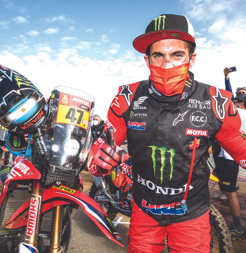 o argentino Kevin Benavides, vencedor do Dakar 2021