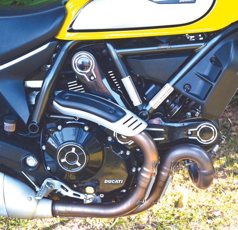 Motor da Ducati Scrambler Icon 800