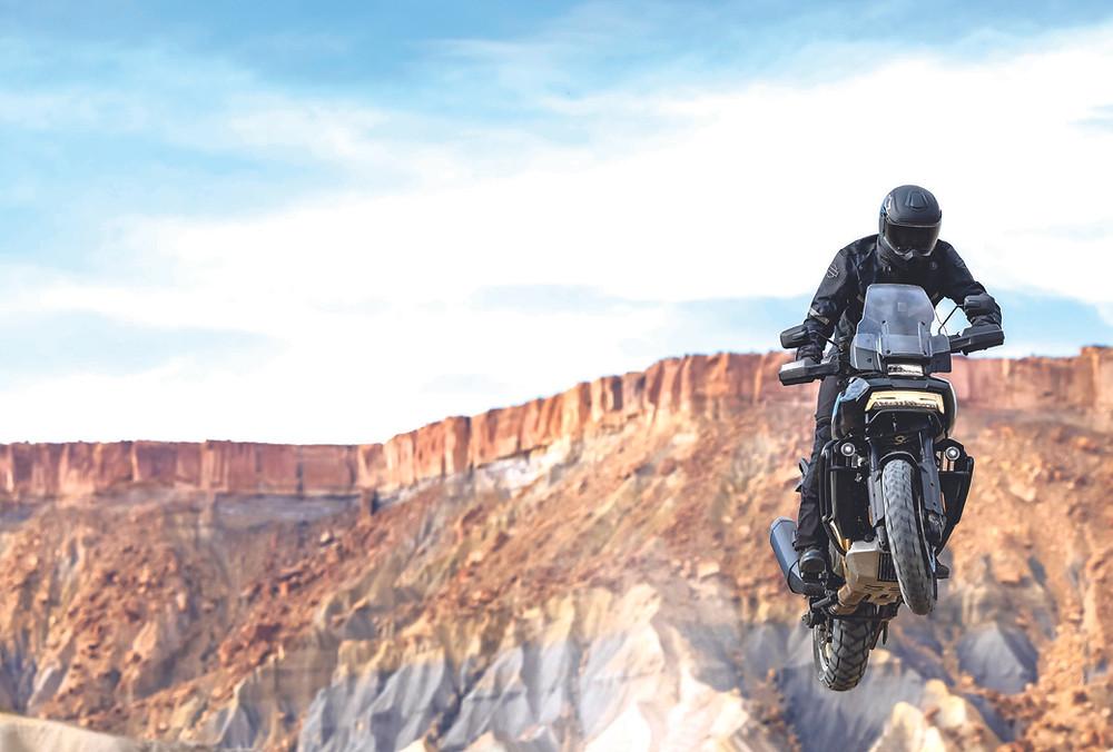 Harley-Davidson Pan America Brasil no off-road