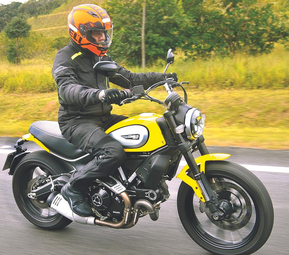 Ducati Scrambler Icon 800 no Brasil