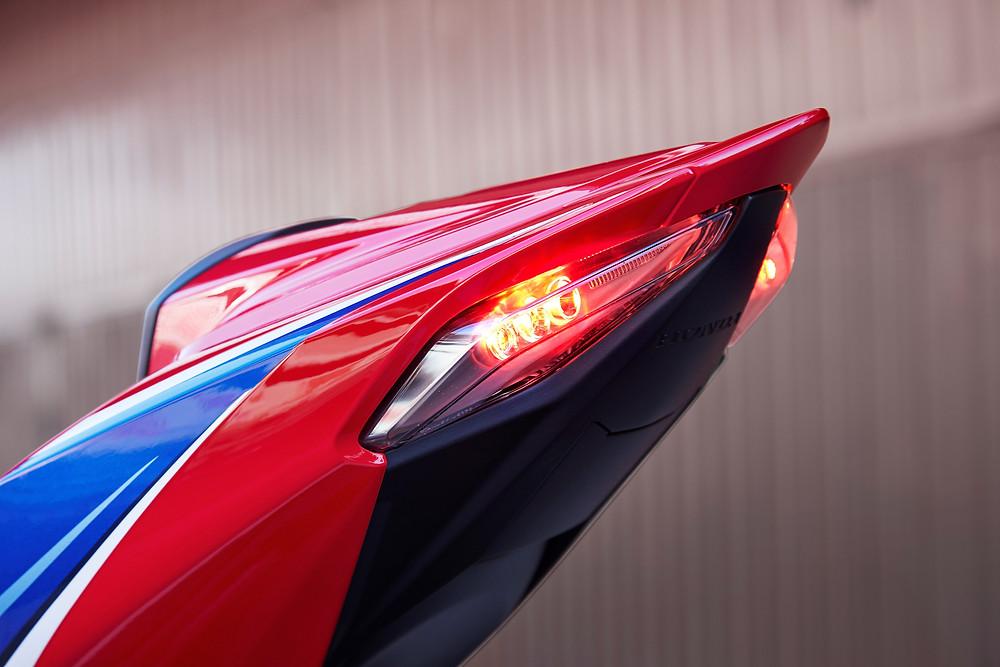 Traseira da Honda CBR 1000RR-R 2022