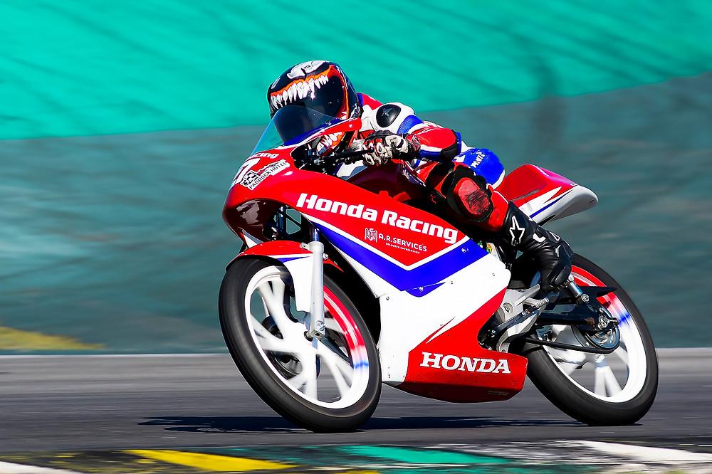 Pela Honda Jr Cup, até o momento, foram quatro etapas e quatro diferentes vencedores