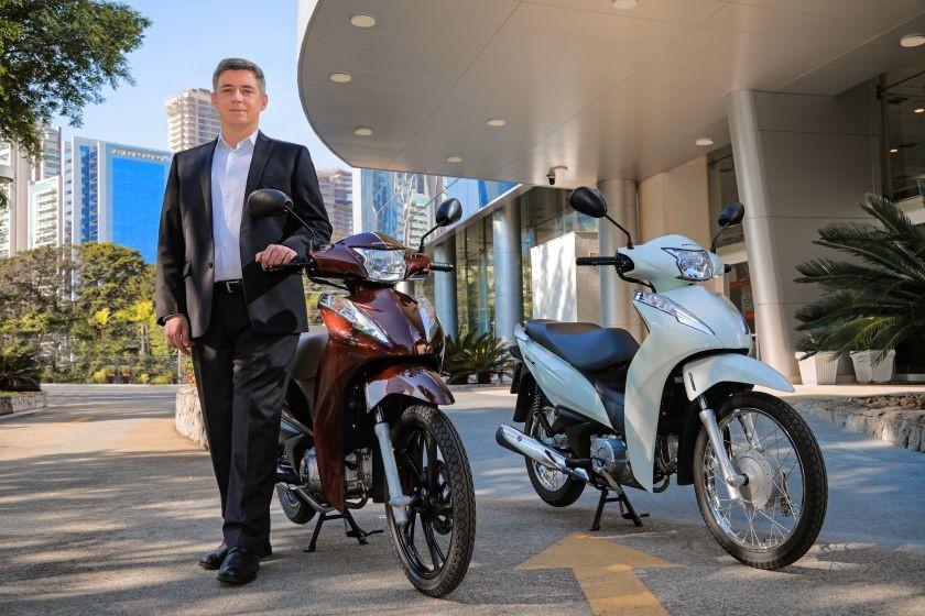 Alexandre Cury, diretor comercial da Honda Motos