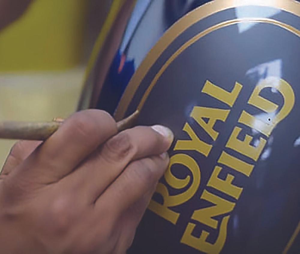 Tanque das motocicletas Royal Enfield