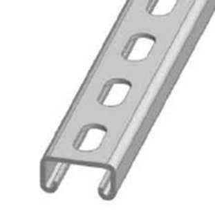 Slotted Pre-Cut Channel Lengths (41mm x 21mm)