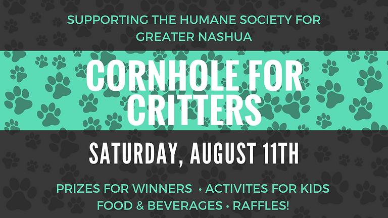 Cornhole for Critters