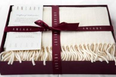 Ladies Wool Fringed Wrap