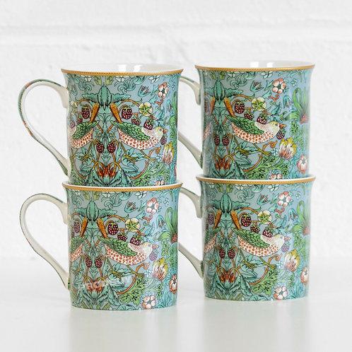 William Morris Palace 4 Mug Sets