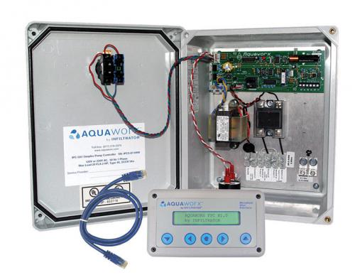 Aquaworx panel by Infiltrator