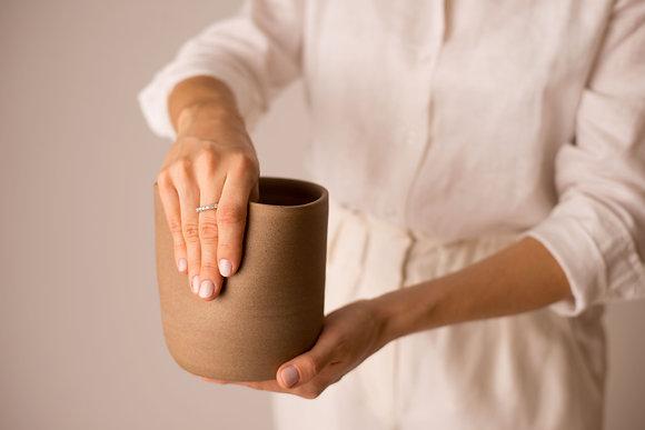 vaso curva pequeno ceramica