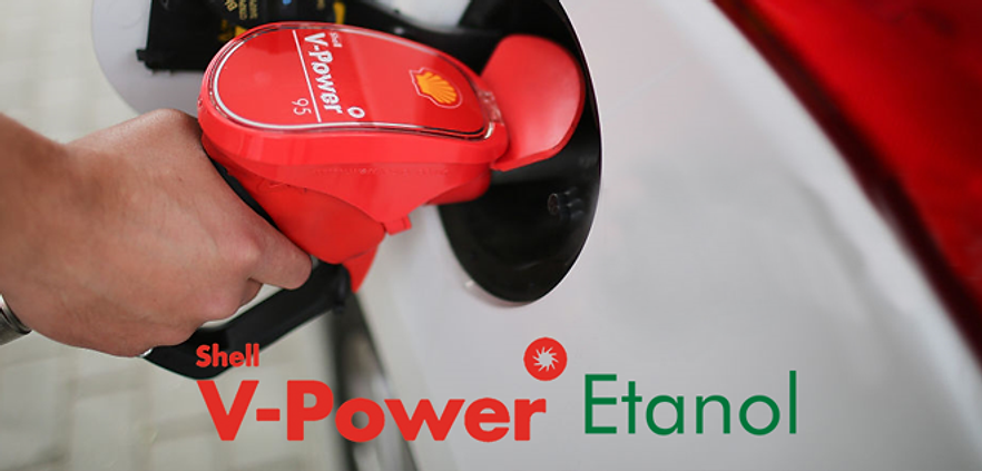 Shell V-Power Galo Branco Franca