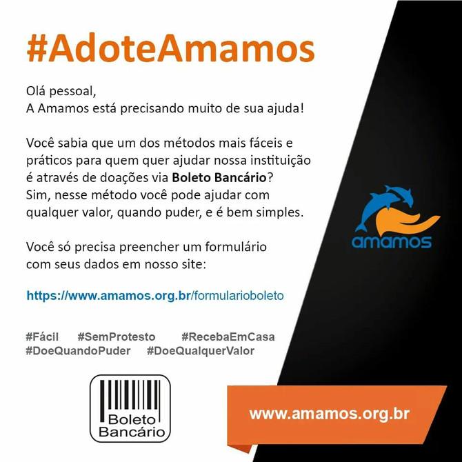 #AdoteAmamos
