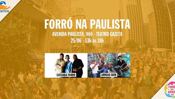 Venha participar da 17ª edição do Forró na Paulista!