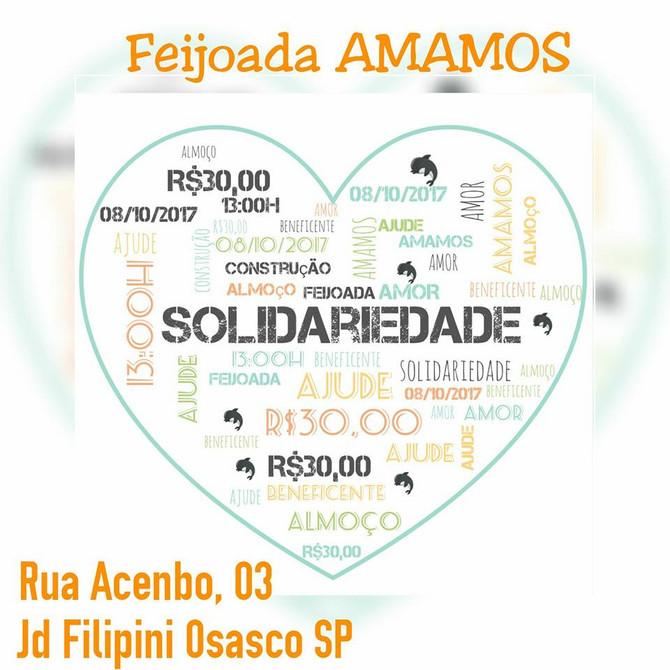 Participe feijoada beneficente em prol da Amamos!