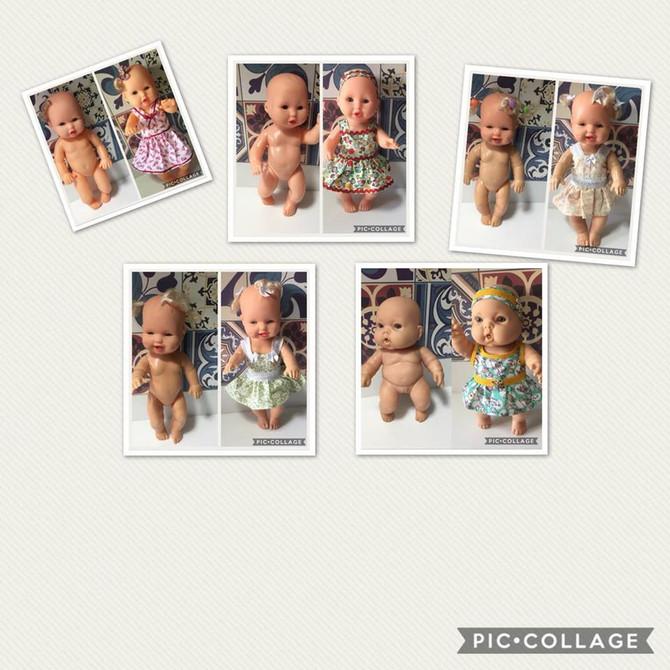 Ajude a Amamos através das nossas bonequinhas recuperadas!