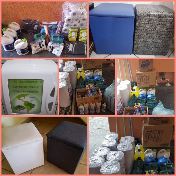 Empresa parceira Porsani - Fotos das doações