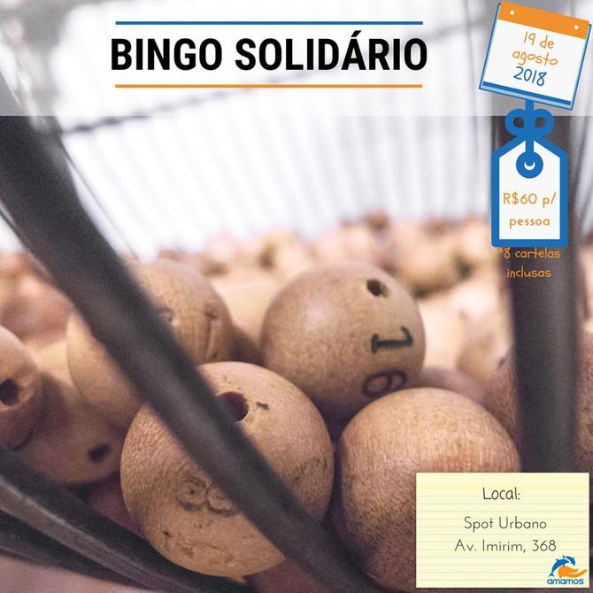 Participe do Bingo Solidário em prol da Amamos!
