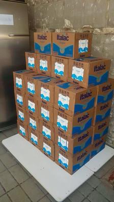 Agradecimento pelas doações de leite!