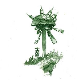 Drone-rough sketch