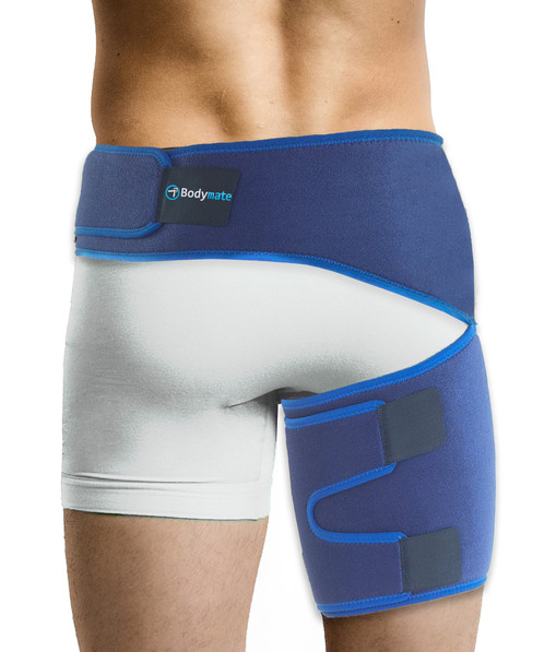9cc59ff4fb Bodymate Compression Wrap for Groin Hip Thigh Blue
