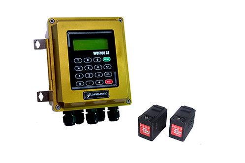 Clamp On Ultrasonic Flowmeter Flowmasonic WUF-100CF