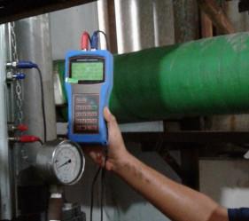 Prosedur Pengoprasian flowmeter portable