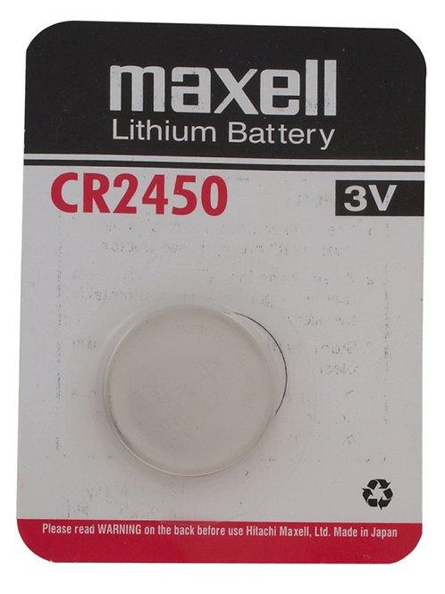 Maxell CR2450 3V Lithium Battery