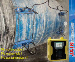 Flow meter ultrasonic 2 Path