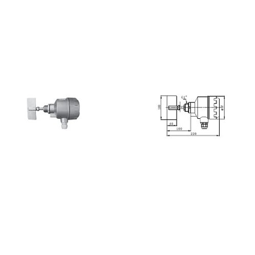Rotary Paddle Level Switch Type SE2-10S