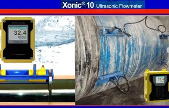 Xonic 100L Jain Clamp On Ultrasonic Flow Meter
