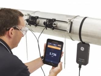 Flow Meter Portable Ultrasonic TransPort PT900 GE Measurement