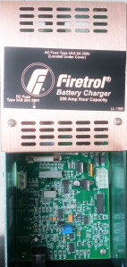 Firetrol Battery charger